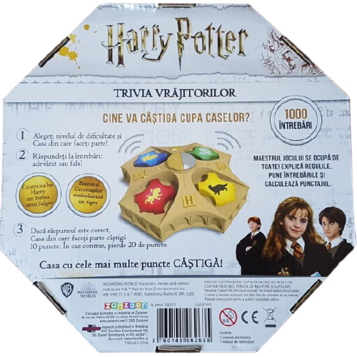 Harry Potter Trivia Vrajitorilor 1