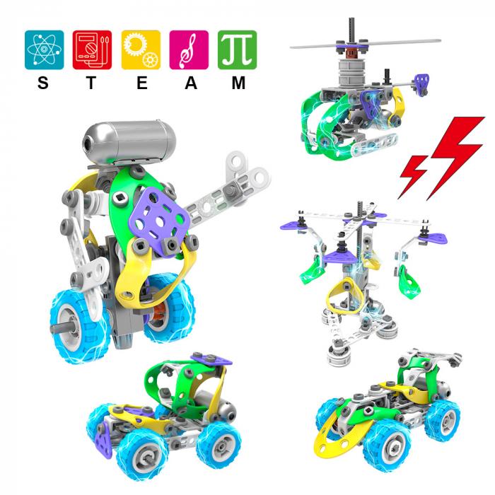 Set de constructie 5 in 1 motorizat [1]