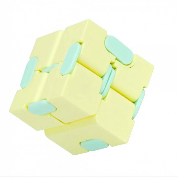 Infinity Magic Cube- Galben/ Albastru [1]