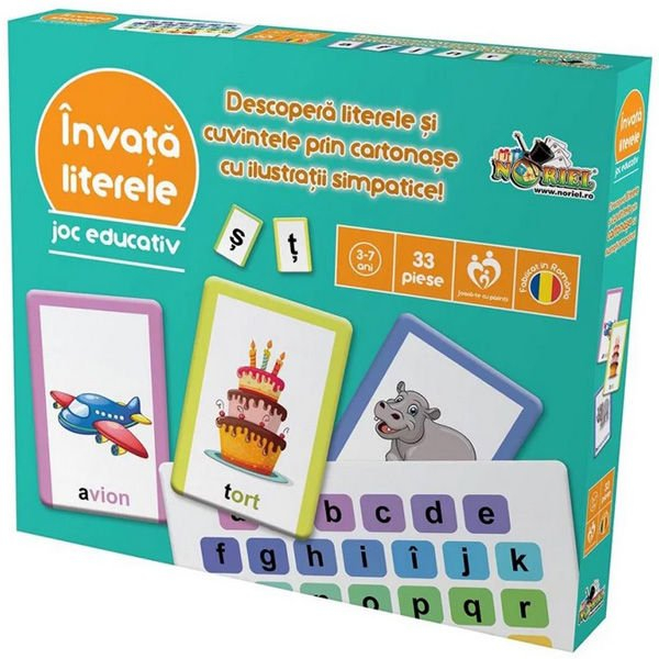 Invata Literele - Joc Educativ Noriel [0]