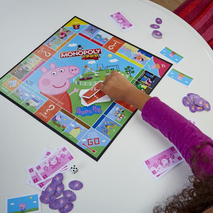 Joc De Societate Monopoly Peppa Pig Junior [3]