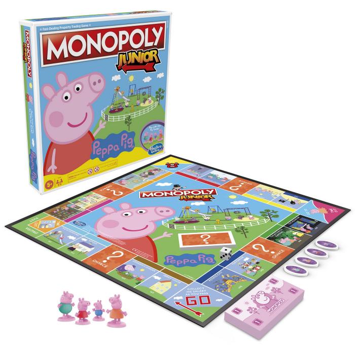 Joc De Societate Monopoly Peppa Pig Junior [6]