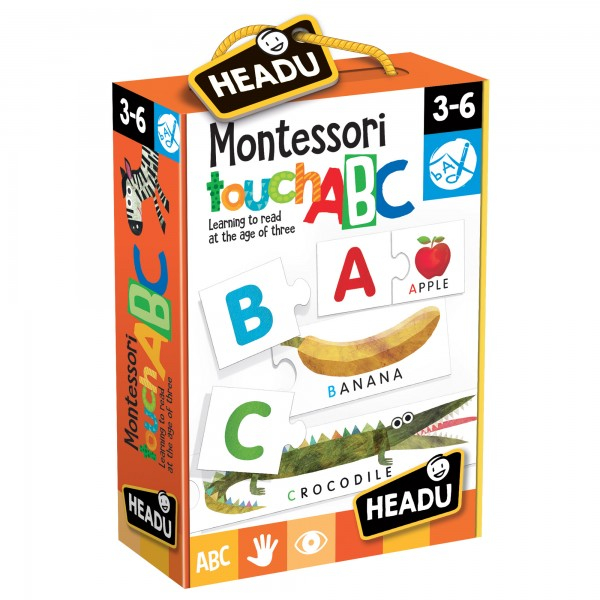 JOC TACTIL MONTESSORI ABC 0