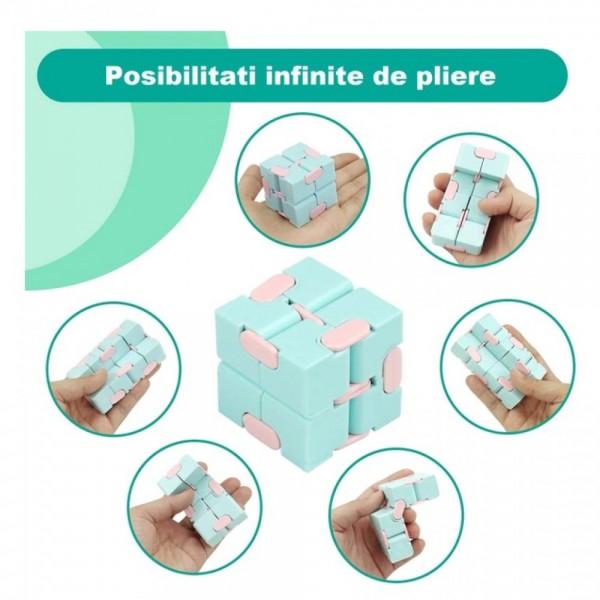 Infinity Magic Cube- Albastru/Roz [0]