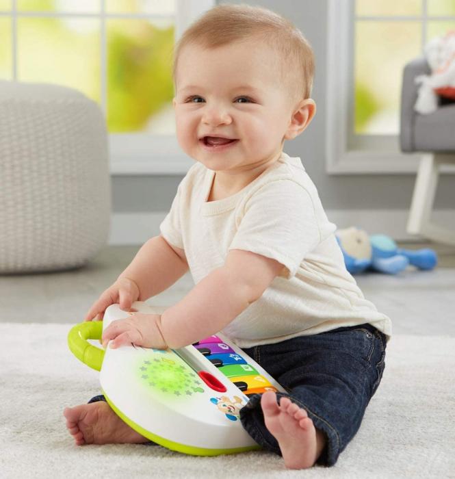 Jucarie bebelusi Fisher Price - Laugh&Learn, Pianul interactiv, lb. romana [3]