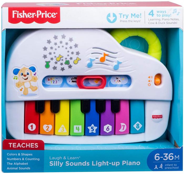 Jucarie bebelusi Fisher Price - Laugh&Learn, Pianul interactiv, lb. romana [0]