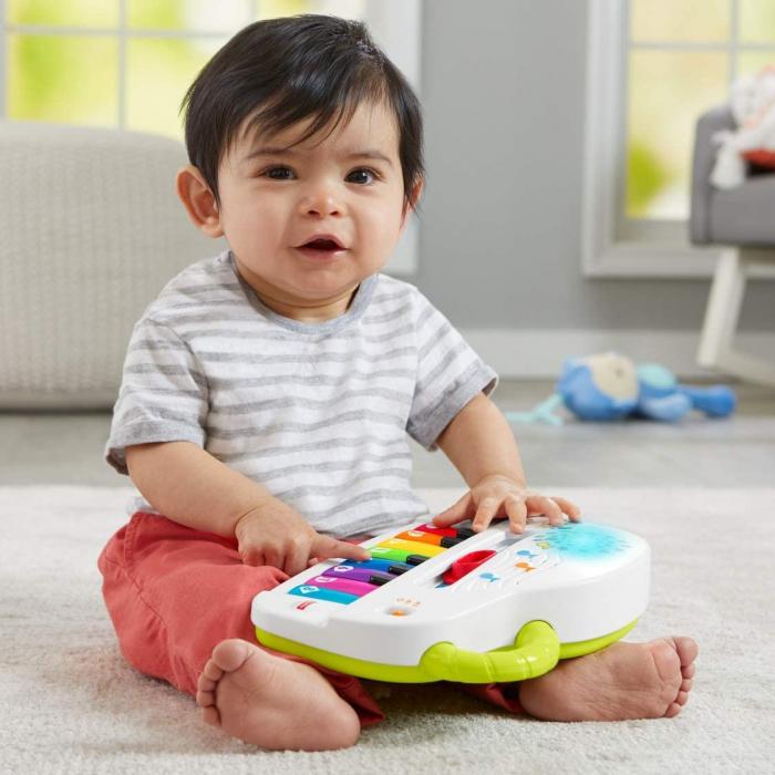 Jucarie bebelusi Fisher Price - Laugh&Learn, Pianul interactiv, lb. romana [2]