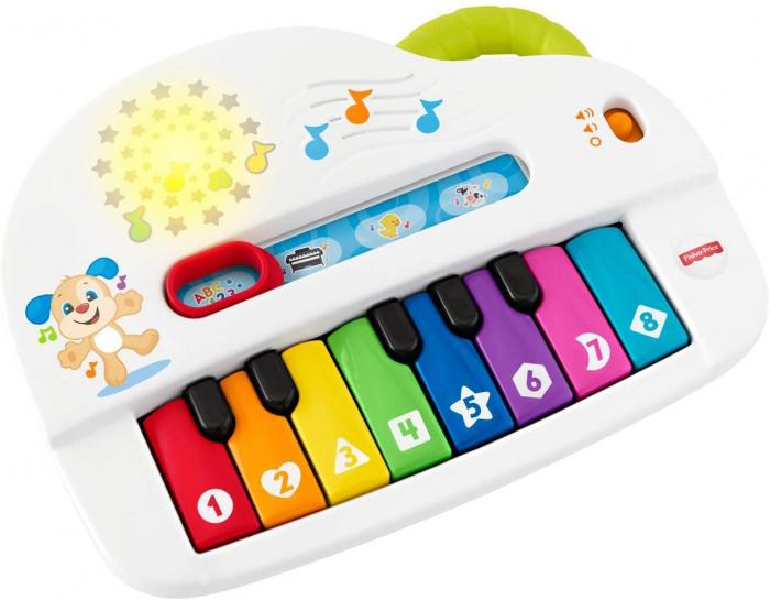 Jucarie bebelusi Fisher Price - Laugh&Learn, Pianul interactiv, lb. romana [4]