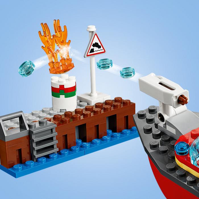 Lego City- Incendiul de la docuri 4