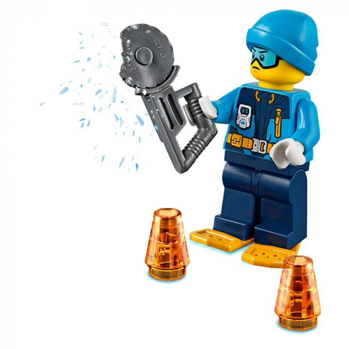 LEGO City-Planorul Arctic Pe Gheata [2]