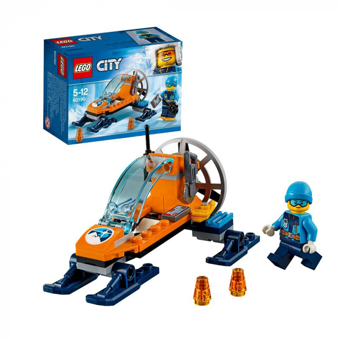 LEGO City-Planorul Arctic Pe Gheata [1]