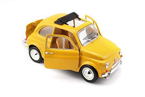 Macheta Metalica Bburago Fiat 500 3