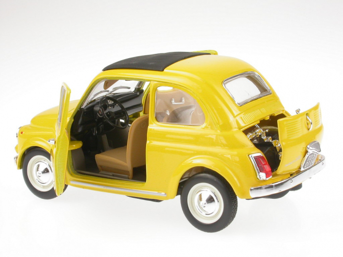 Macheta Metalica Bburago Fiat 500 2