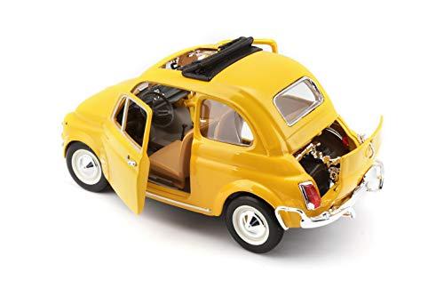 Macheta Metalica Bburago Fiat 500 0