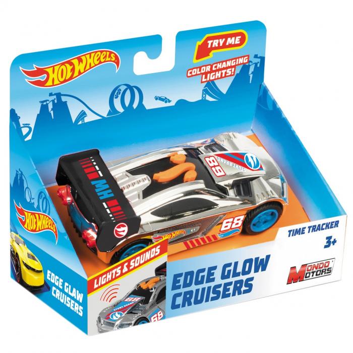 Masinuta Hot Wheels - Time Tracker, Cu Lumini Si Sunete [0]