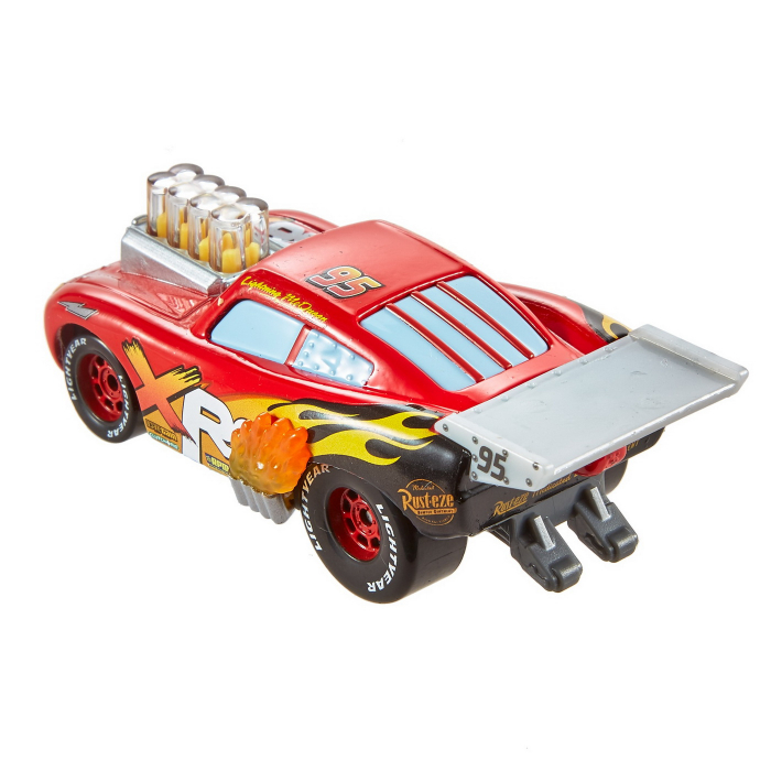 Masinuta metalica Cars XRS de curse personajul Fulger McQueen [5]