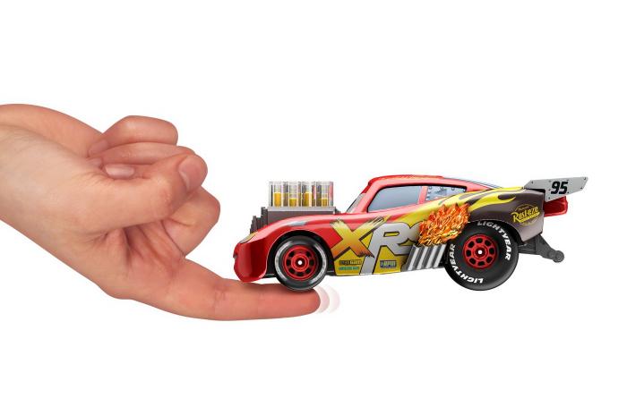 Masinuta metalica Cars XRS de curse personajul Fulger McQueen [7]