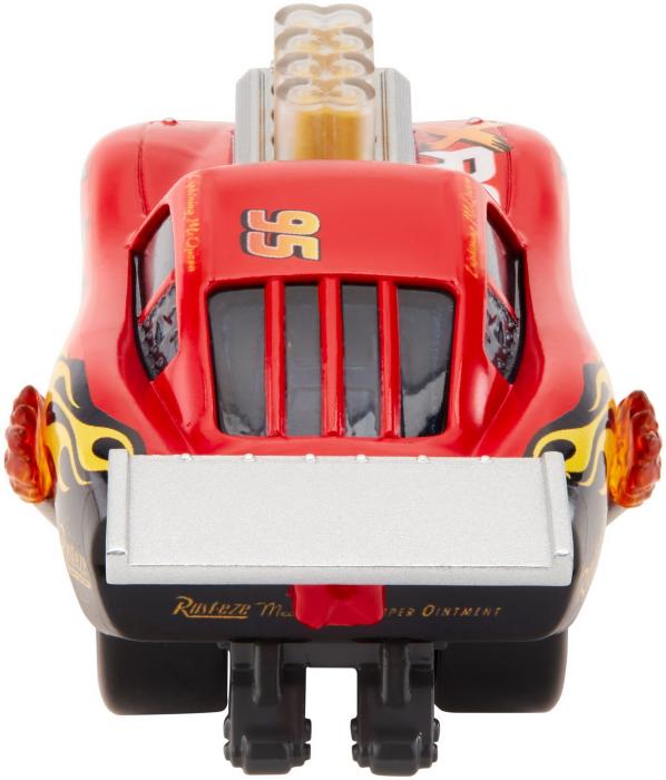 Masinuta metalica Cars XRS de curse personajul Fulger McQueen [4]