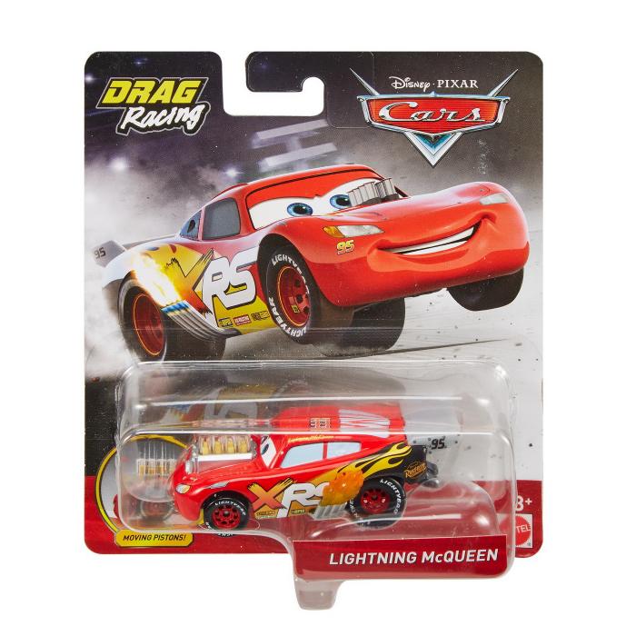 Masinuta metalica Cars XRS de curse personajul Fulger McQueen [0]