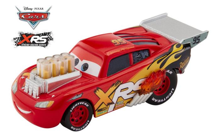 Masinuta metalica Cars XRS de curse personajul Fulger McQueen [3]