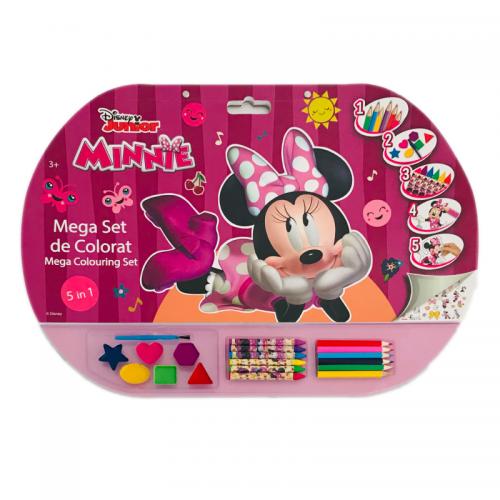 Mega Set De Colorat 5 in1 Minnie [0]