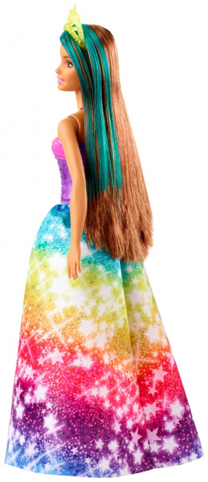 Papusa Barbie Dreamtopia - Printesa cu coronita galbena [2]