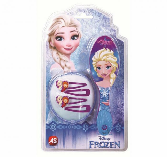 Perie si agrafe de par Frozen 0