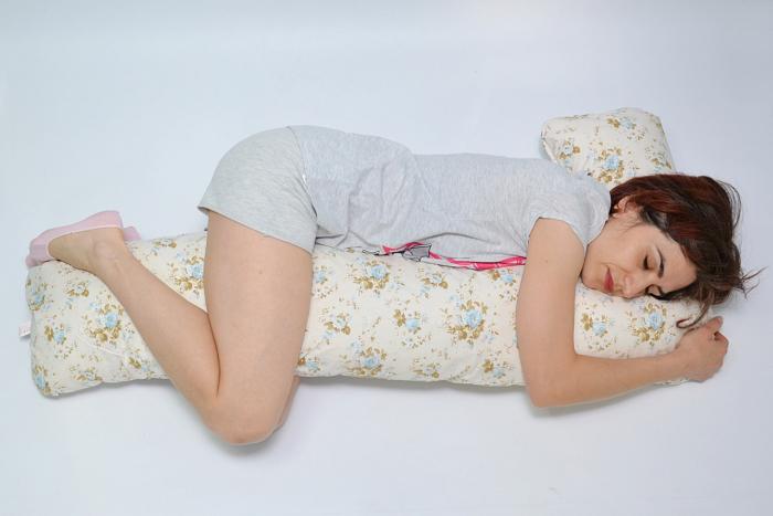 Pernă sarcină, alăptare și relaxare Lala, model gri cu stele [0]