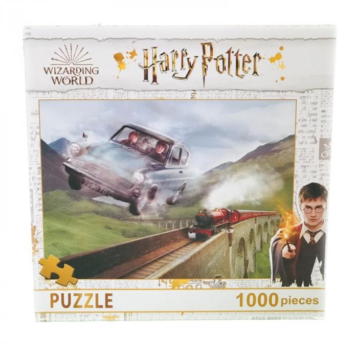 Puzzle 1000 Piese Harry Potter- Masina Zburatoare [0]