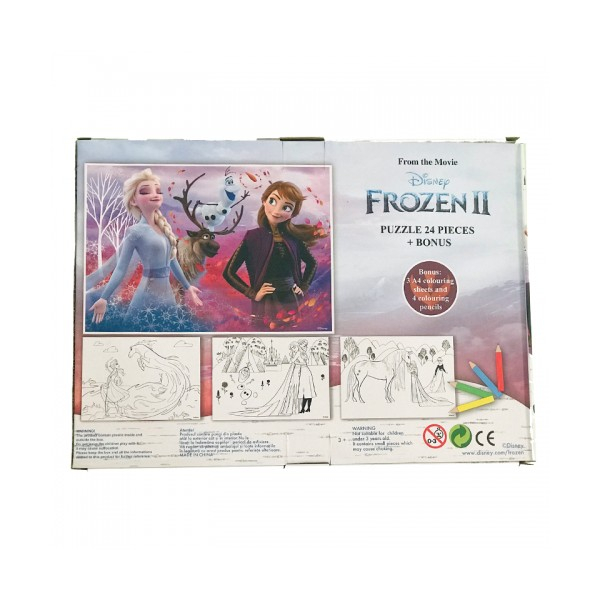 Puzzle 24 Piese + Bonus Frozen 2 [3]