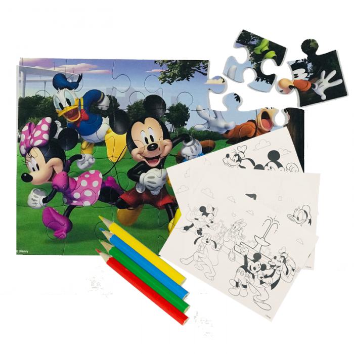 Puzzle 24 Piese + Bonus Mickey [1]