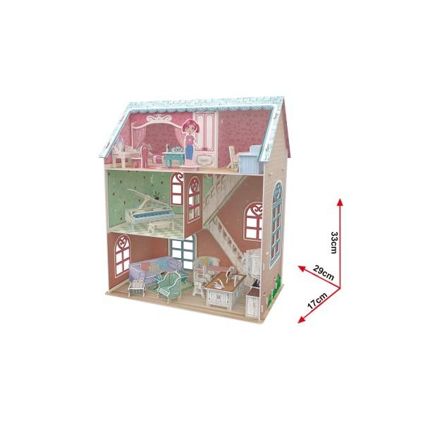 Puzzle 3D Casa Pianistului 105 Piese [3]