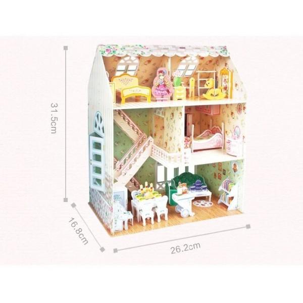 Puzzle 3D CubicFun-Casuta Papusilor 160 Piese [2]