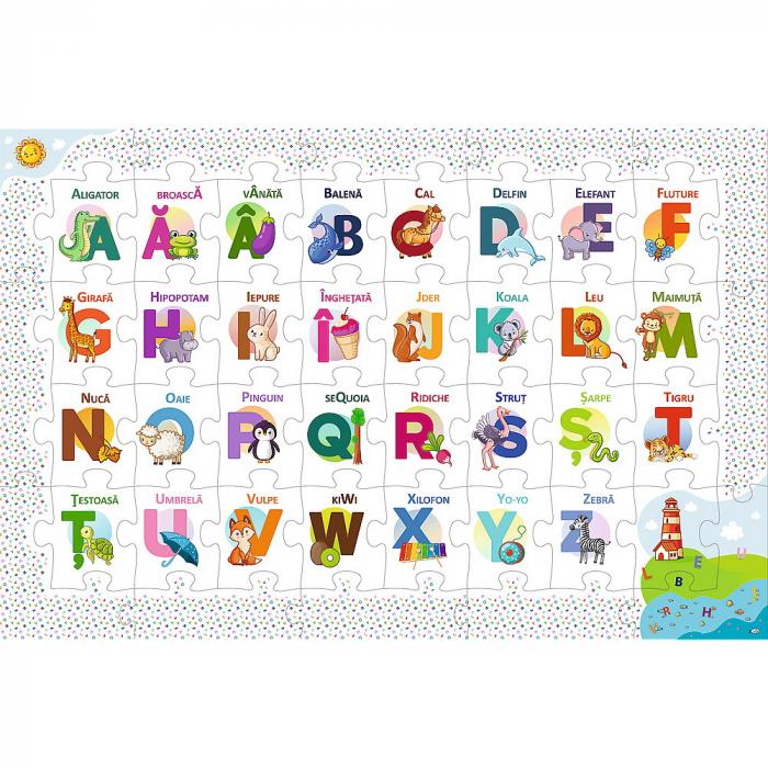 Puzzle 44 Educational Alfabetul [1]