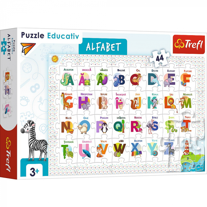 Puzzle 44 Educational Alfabetul [0]