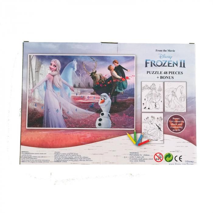 Puzzle 48 Piese + Bonus Frozen 2 [2]