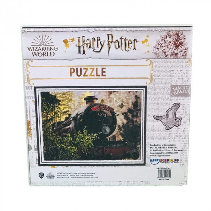 Puzzle 500 Piese Harry Potter- Trenul Hogwarts Express 1