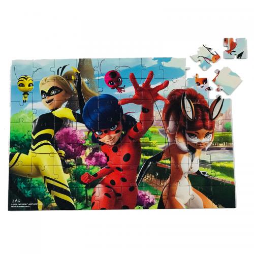 Puzzle 70 Piese + Bonus Miraculous 1