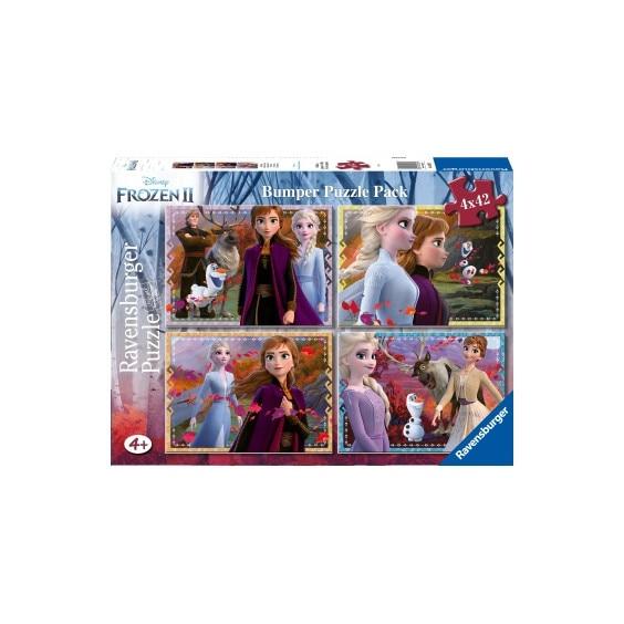 Puzzle Frozen II, 4x42 Piese [1]