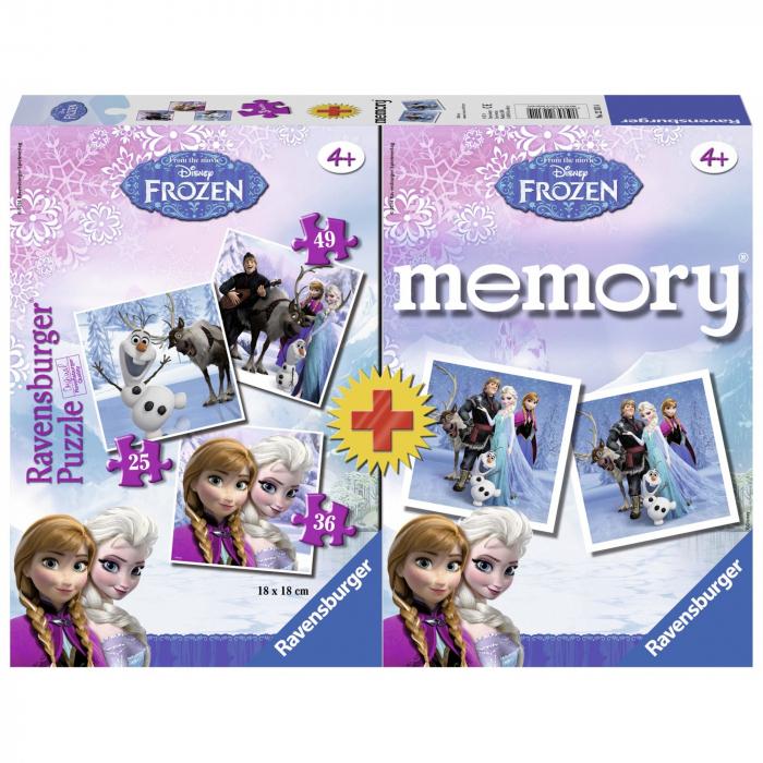 puzzle-joc-memory-frozen-3-buc-in-cutie-25-36-49-piese 0