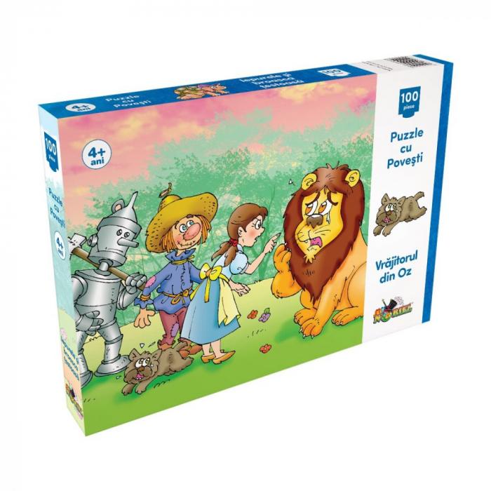 Puzzle Noriel 100 De Piese - Vrajitorul Din Oz 0