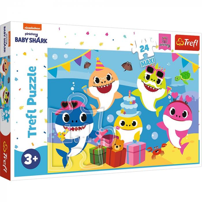 Puzzle Trefl 24 Maxi Happy Baby Shark [0]