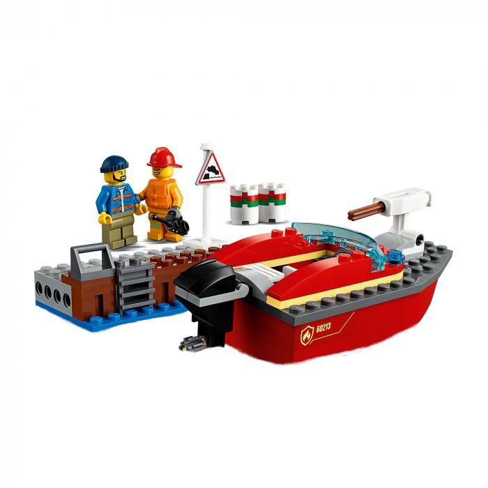 Lego City- Incendiul de la docuri 2