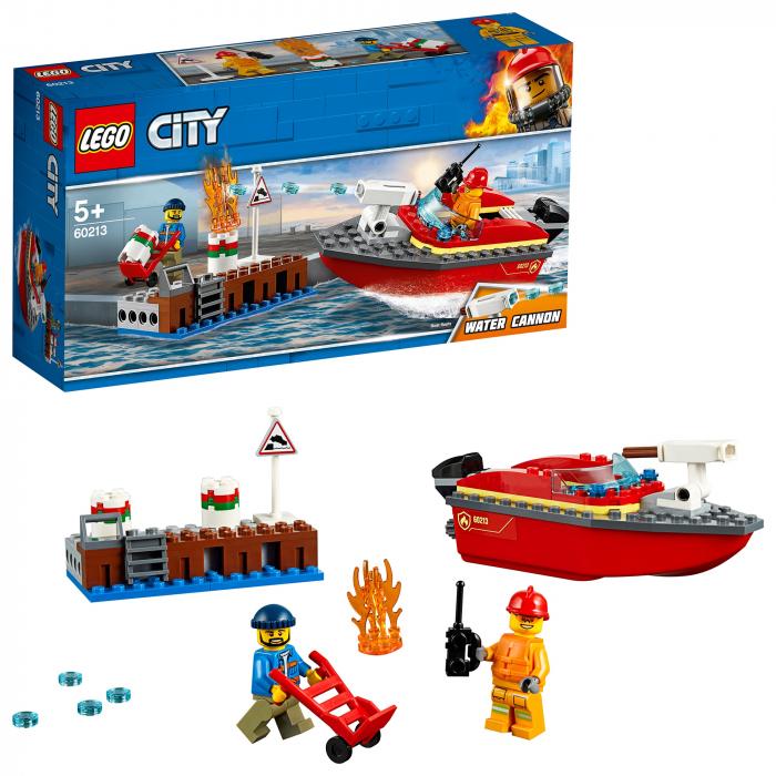 Lego City- Incendiul de la docuri 0