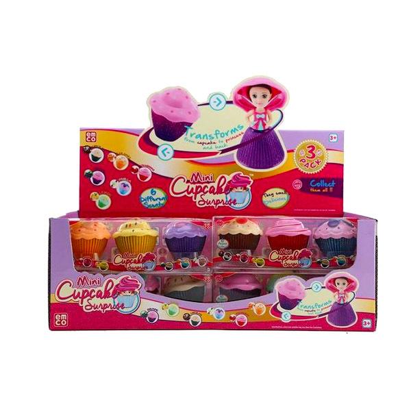 Set 3 papusi mini cupcake [2]