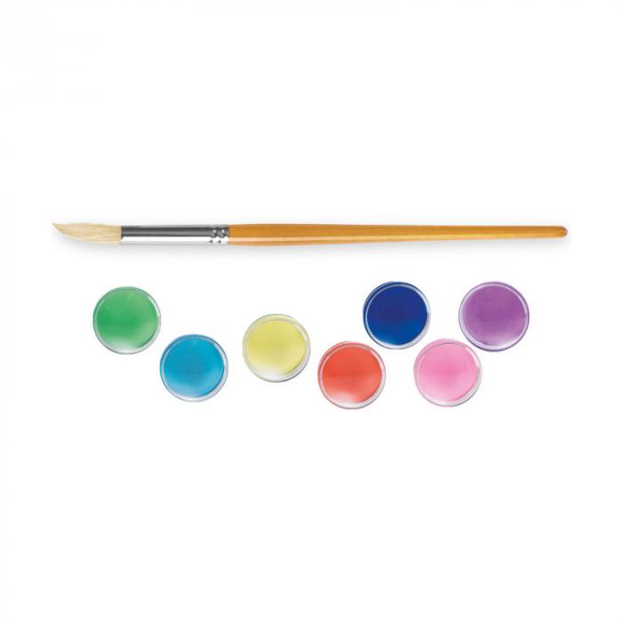 Set acuarele cu 12 culori pentru pictat. [1]