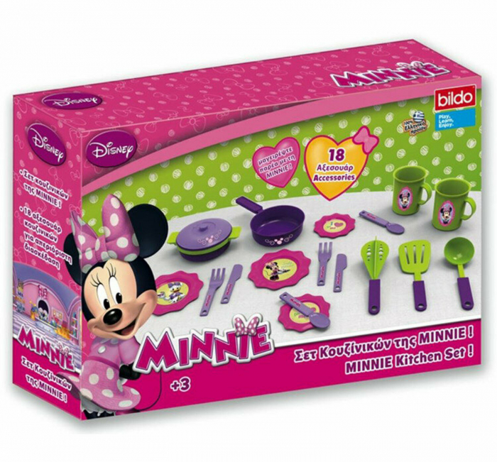 Set Bucatarie Mica Cu Accesorii Minnie 0