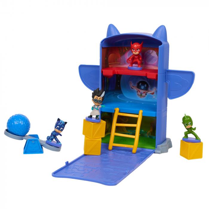 Set de joaca Eroi in Pijama - Sediul Central 1