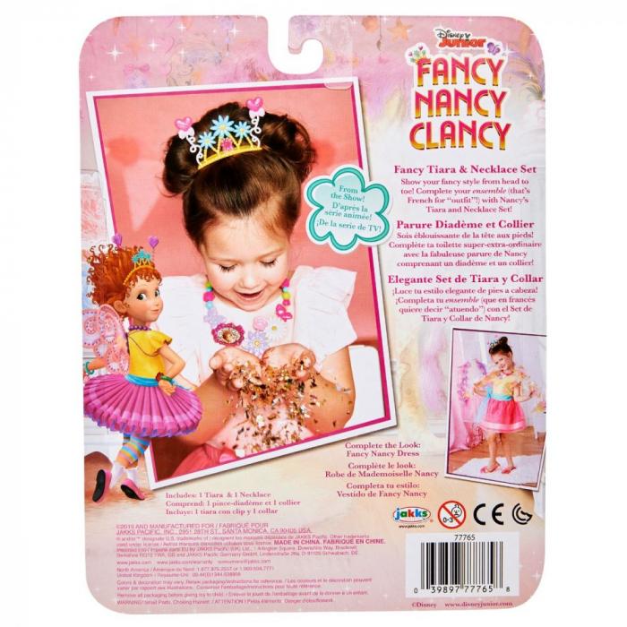 Set Diadema Si Colier Fancy Nancy Clancy 1