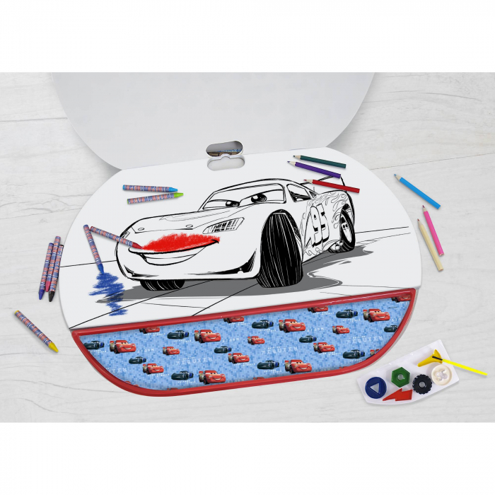 Set Pentru Desen 5 in1 Gigablock Cars 2